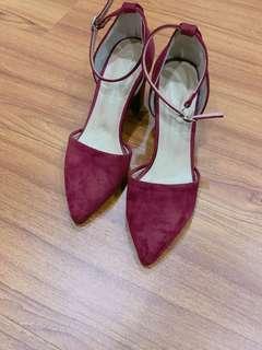🚚 正韓 紅色瑪麗鞋