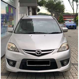 Mazda 5 Limited Promotion! Grab Friendly*