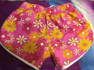 Floral Summer Convertible Short
