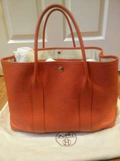 Hermes Garden Party 36 (Preloved)