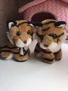 超萌孟加拉虎🐯雙胞胎玩偶(ㄧ對共兩隻)