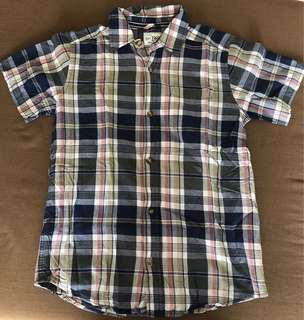 Place plaid polo for boys
