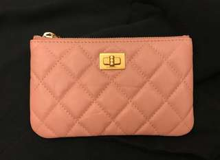 Chanel classic 2.55 Pouch (pink)