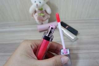 Lipgloss Korea Tok Tokhae Cherry Pink