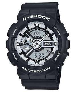 G-Shock Special Color Series (GA-110BW-1A)