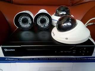 Secuview CCTV 1 set