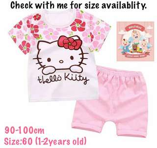 Hello Kitty T-shirt Set