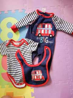 Set jumpsuit for baby boy