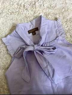 Plains and Prints Light Blue Dress