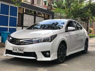 2015 Toyota Altis 2.0V Pearl White Top Of The Line AT Casa Maintained