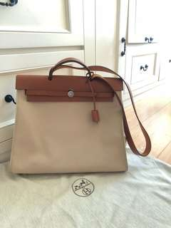 Authentic HERMÈS HERBAG ZIP 39
