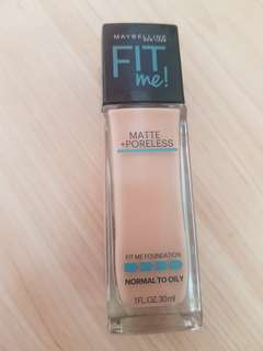 Maybelline Fit Me! Matte Poreless in Classic Ivory 120