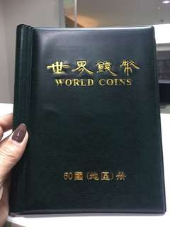 World coins souvenir book