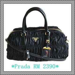 Prada Gaufre 2way-bag