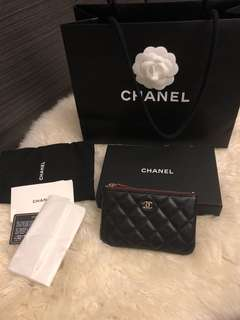 Chanel Caviar Coins Purse
