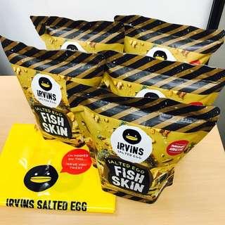 Irvins Salted Egg Fish Skin