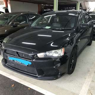 08 mitsubishi lancer 2.0A GT 2.0A sunroof bodykit
