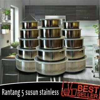 Rantang Stainless isi 5pcs