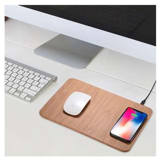 Qi Wireless Charging Mouse Pad 無線充電滑鼠墊