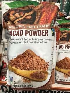 美國USDA 認證有機可可粉💖2磅裝💖【Pre-Order】