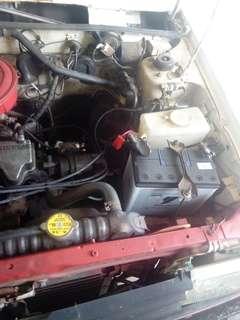 Nissan sunny enjin elok excon ada gear 3 tendang sesuai untuk niaga dan kebun