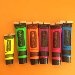 PaintGlow Neon Face Paints