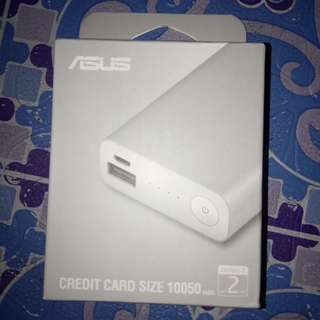 Credit card size powerbank