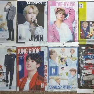Kpop BTS BlackPink Twice Momoland Folder Inserts