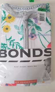 Bonds zippy wondersuit