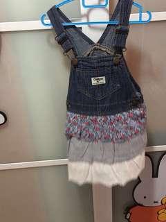 Oshkosh Overall dress cantik