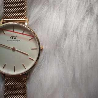 DANIEL WELLINGTON DW CLASSIC WATCH WHITE/GOLD 32MM