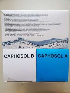 Caphosol A and B Mouth Rinse