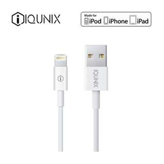 IQUNIX MFi Lighning Cable 蘋果充線 數據線 2m