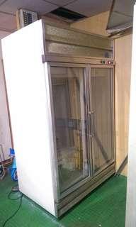 雙門 營業用  玻璃 展示  冰箱 冰櫃