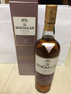 Macallan Fine Oak 17