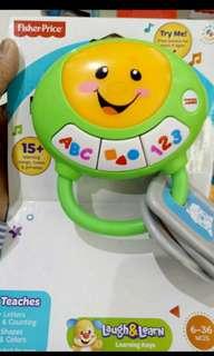 Fisher price toys ringging
