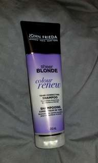 John Frieda Blonde tone correcting shampoo