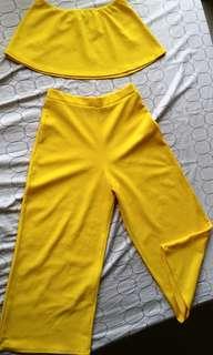 Crop Top/Pants Terno