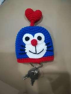 Handmade  Doraemon Keycover