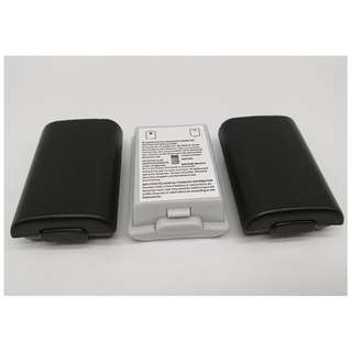 (Free postage) Pack of 3: Battery Pack Cover Shell Shield Case Kit for Xbox 360