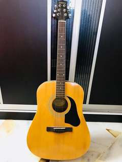 SILVERTONE NATURAL FULL BODY GUITAR
