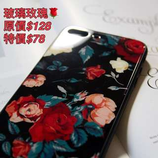 玻璃玫瑰🌹iPhone case 7p 8p