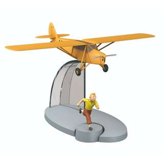 AIRCRAFT TINTIN: Orange Plane #7