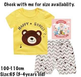 Kids T-shirt set unisex
