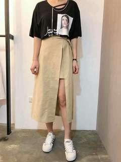 🔺正韓假兩件造型裙