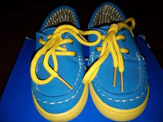 Baby Topsider shoes