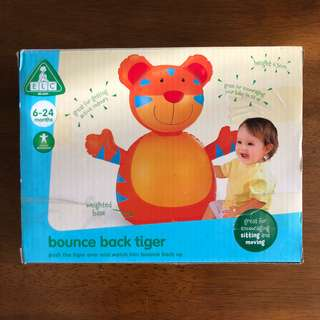 BNIB BOUNCE BACK TIGER FROM EARLY LEARNING CENTRE