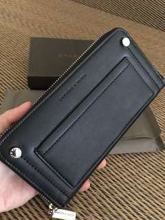 Ready stock: Charles & Keith accordion zipper long wallet
