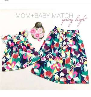 Mom Baby Matching Outfit