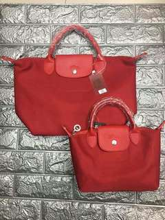 Longchamp small at med promo